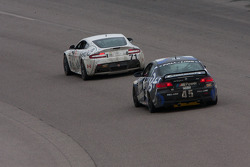 #71 Multimatic Motorsports Aston Martin Vantage: Patrick Dempsey, Tonis Kasemets; #45 Fall-Line Motorsports BMW M3 Coupe: Al Carter, Hugh Plumb