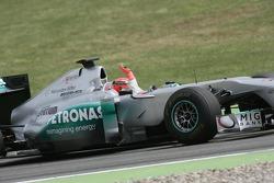 Michael Schumacher, Mercedes Grand Prix drives Demo Laps