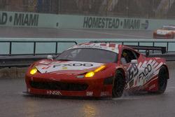 #69 AIM Autosport Team FXDD Racing with Ferrari Ferrari 458: Emil Assentato, Jeff Segal