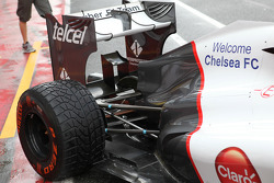 Welcome Chelsea on the side of the Kamui Kobayashi, Sauber F1 Team