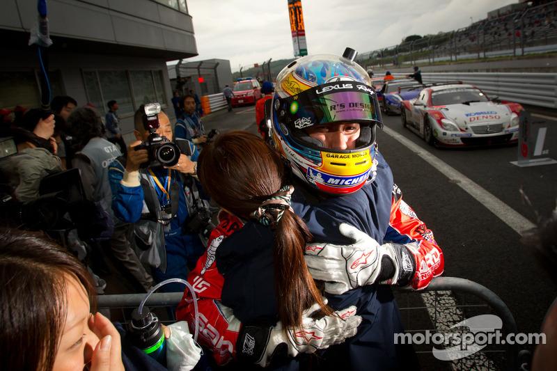 GT500 race winnaars Hiroaki Ishiura