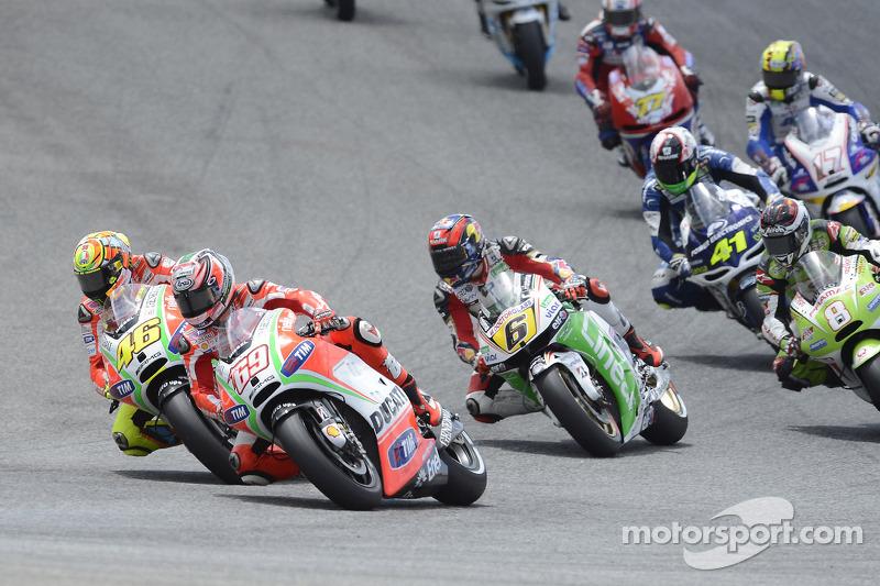 2012: Nicky Hayden dan Valentino Rossi, Ducati