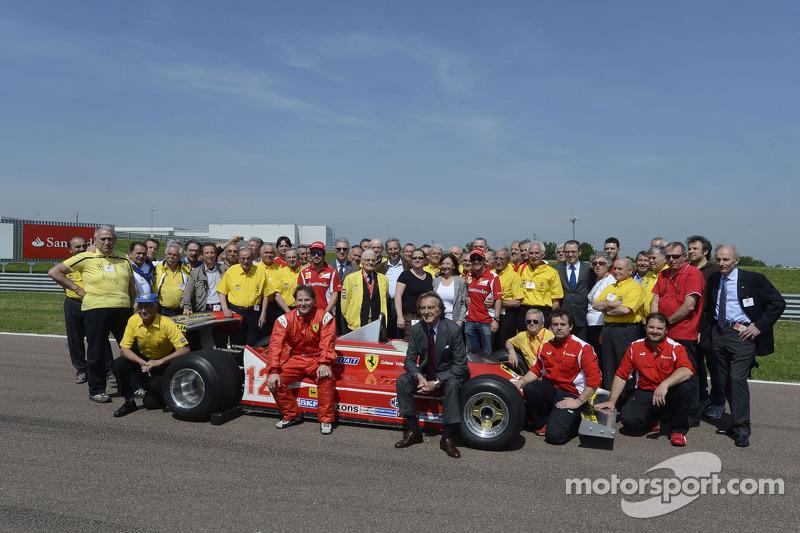 Jacques Villeneuve et Scuderia Ferrari