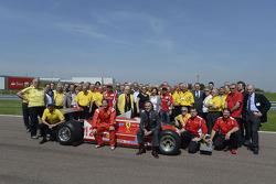 Jacques Villeneuve with Scuderia Ferrari