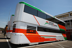 Sahara Force India F1 Team truck