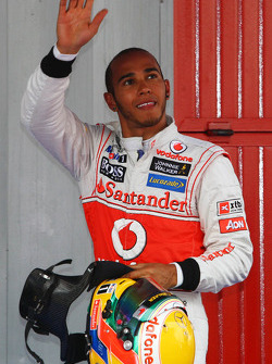 Lewis Hamilton, McLaren Mercedes polepositie
