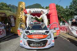 Kevin Gilardoni, Corrado Bonnato, Hyundai i20 WRC, Movisport