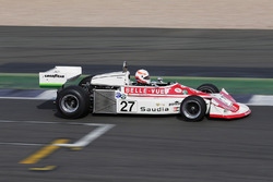 A Patrick Neve March 761 is demonstrated by Martin Brundle