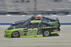 Ryan Blaney, Team Penske Ford, Mike Harmon, Mike Harmon Racing Dodge