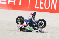 Zulfahmi Khairuddin, Orelac Racing VerdNatura Kawasaki, crash
