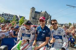 Гонщики Ford Chip Ganassi Racing Оливье Пла, Штефан Мюкке и Билли Джонсон