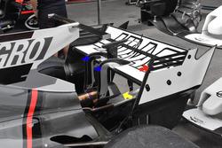 Haas F1 Team VF-17: Heckflügel
