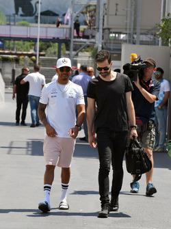 Lewis Hamilton, Mercedes AMG F1 and Marc Hynes