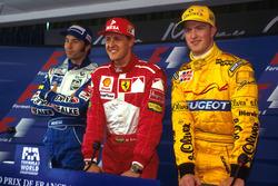 Sıralama turları sonrası ilk 3: Pole Michael Schumacher, Ferrari, 2. Heinz-Harald Frentzen, Williams, 3. Ralf Schumacher, Jordan