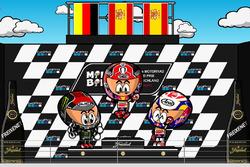 El GP de Alemania 2017 de MotoGP según 'MiniBikers'