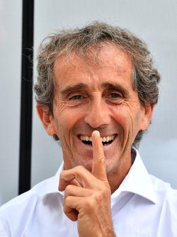 Alain Prost, adviseur Renault Sport F1 Team