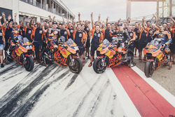 Мігель Олівейра, Red Bull KTM Factory Racing, Бредлі Сміт, Red Bull KTM Factory Racing,  Міка Калліо, Red Bull KTM Factory Racing