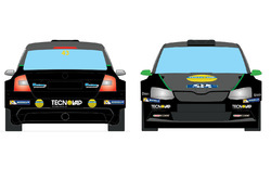 Livrea Skoda Fabia R5 di Umberto Scandola per il Rally di Finlandia