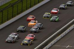 Jeb Burton, JGL Racing Toyota, J.J. Yeley, TriStar Motorsports Toyota