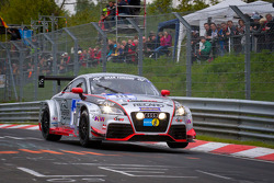 #111 Raeder Motorsport Audi TT RS: Elmar Deegener, Jürgen Wohlfarth, Christoph Breuer, Stefan Landmann
