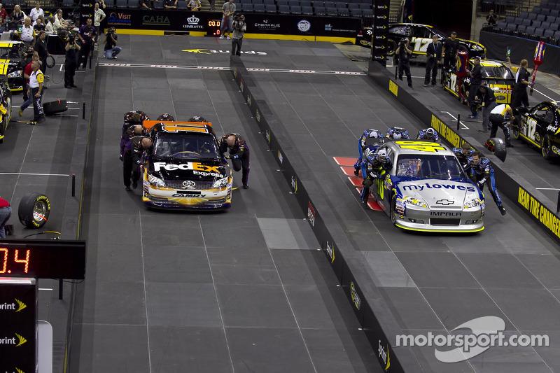 Joe Gibbs Racing vs Henrick Motorsport