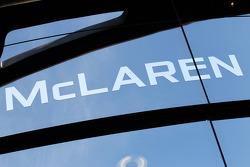 McLaren Mercedes signage