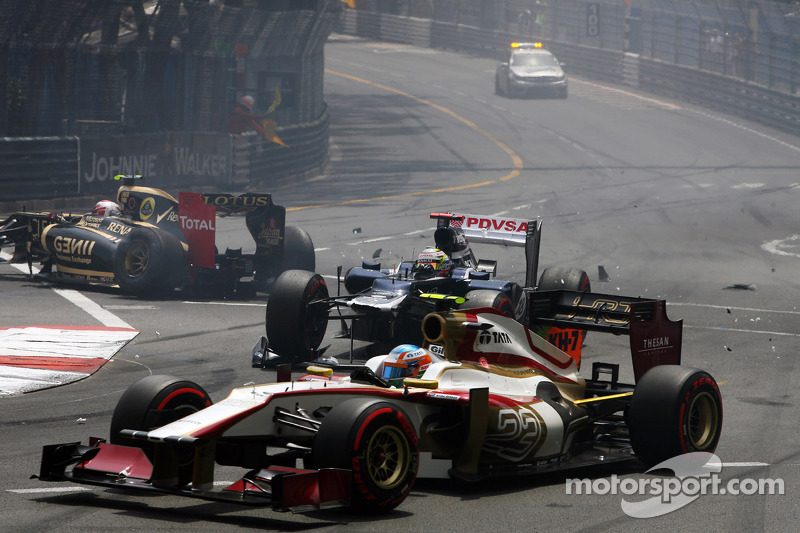 GP de Mónaco 2012 Carrera