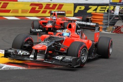 Timo Glock, Marussia F1 Team ve Charles Pic, Marussia F1 Team