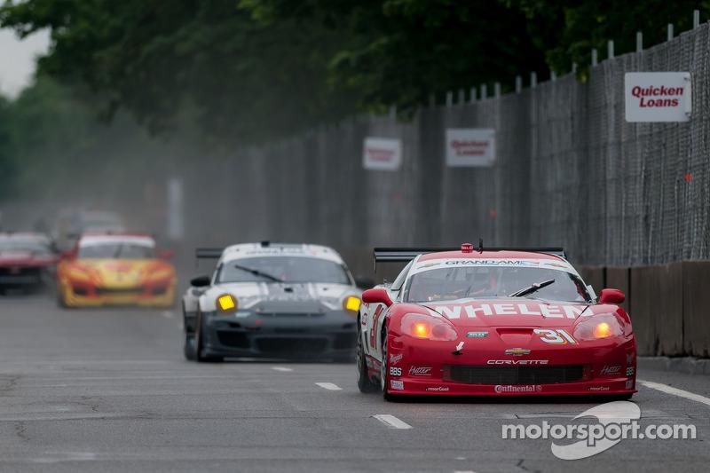 #31 Marsh Racing Chevrolet Corvette: Eric Curran, Boris Said