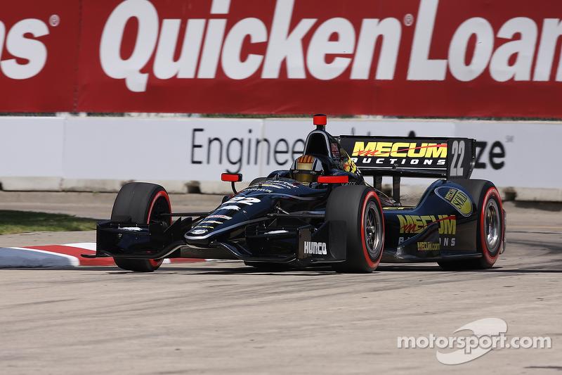 Oriol Servia, Dreyer & Reinbold Racing Chevrolet