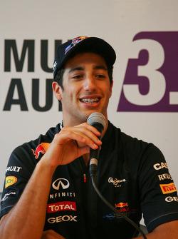 Daniel Ricciardo, on press conference
