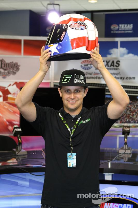 Justin Lofton wint pole op basis van owner points