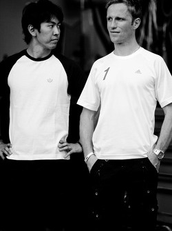 Masataka Yanagida and Ronnie Quintarelli