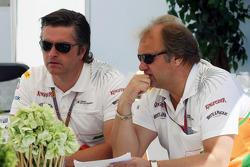 Andy Stevenson, Sahara Force India F1 Team Manager en Bob Fernley, Sahara Force India F1 Team Deputy Team Principal