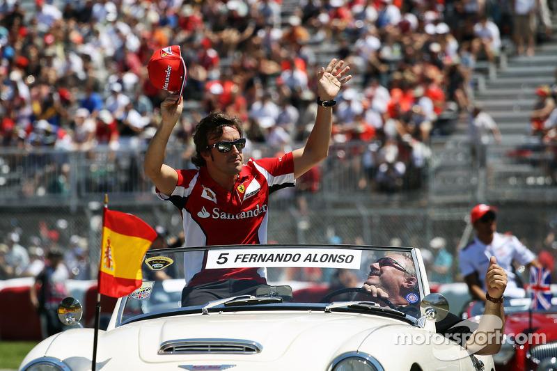 Fernando Alonso, Scuderia Ferrari rijdersparade