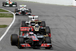 Jenson Button, McLaren Mercedes Mercedes