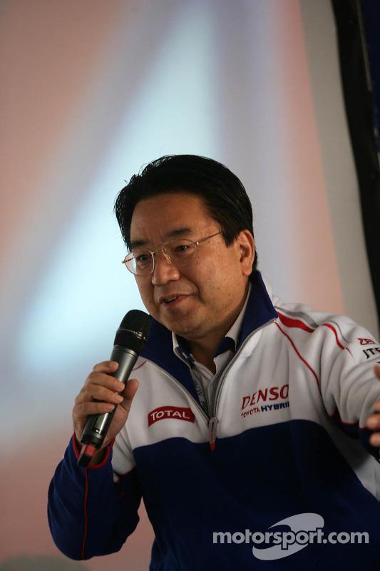 Yoshiaki Kinoshita, Team President Toyota Racing