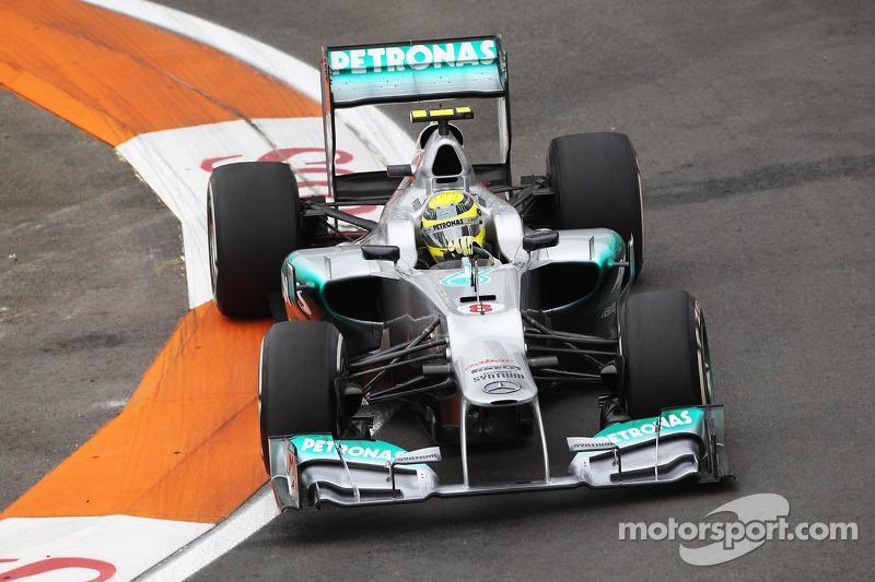 Нико Росберг на такой же машине заработал 67. Нико победил в Китае и стал вторым в Монако
