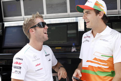 Sam Bird and Jules Bianchi