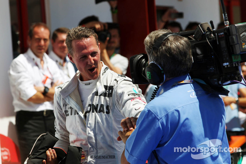 Michael Schumacher, Mercedes AMG F1