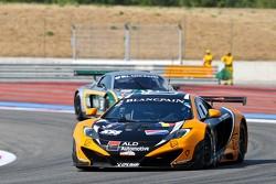 #5 Boutsen Ginion Racing McLaren MP4-12C GT3: Edouard Mondron, Jack Clarke, Nico Verdonck