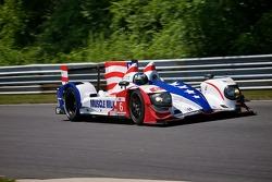 #6 Muscle Milk Pickett Racing, HPD ARX-03a Honda: Lucas Luhr, Klaus Graf