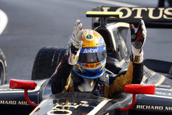 Race winner Esteban Gutierrez