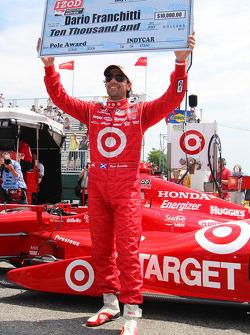 Polesitter Dario Franchitti, Target Chip Ganassi Racing Honda