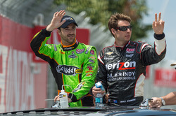 James Hinchcliffe and Will Power