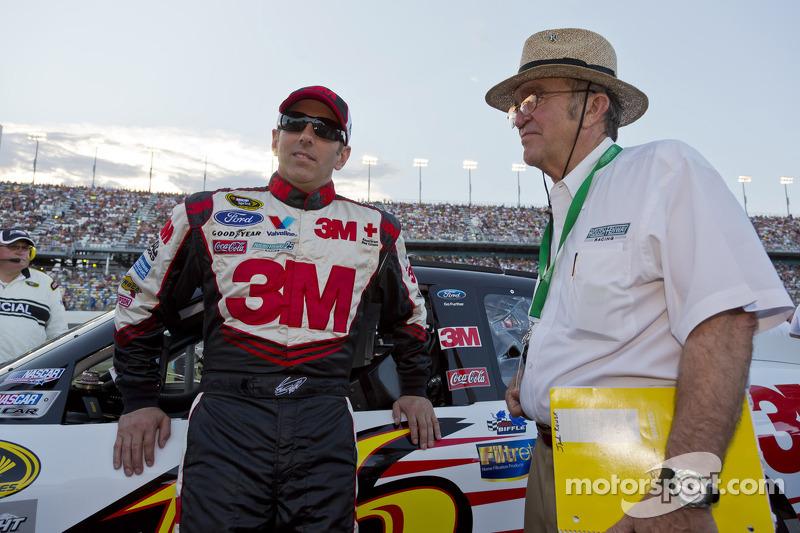 Greg Biffle, Roush Fenway Racing Ford en Jack Roush