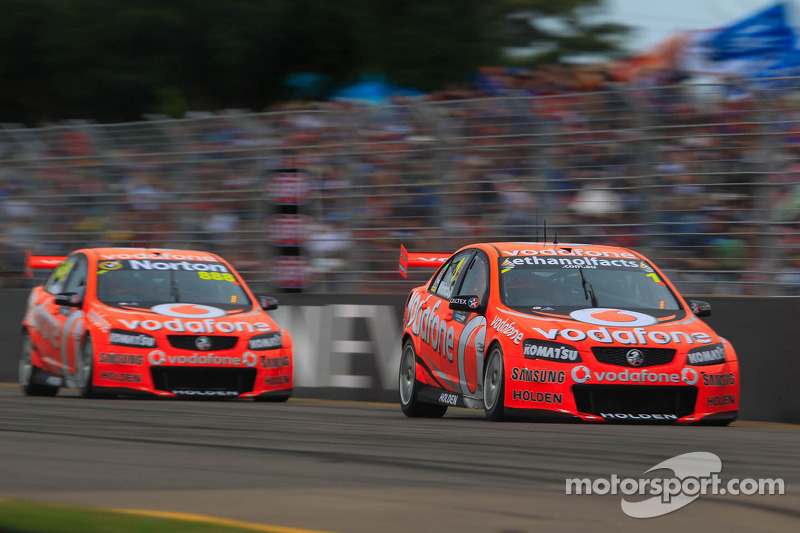 Jamie Whincup and Craig Lowndes