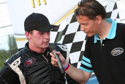 Race winner Ben Kennedy