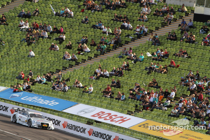 Timo Scheider, ABT Sportsline Audi A5 DTM Adrien Tambay, Audi Sport Team Abt Audi A5 DTM and Ralf Schumacher, Team HWA AMG Mercedes, AMG Mercedes C-Coupe Jamie Green, Team HWA AMG Mercedes, AMG Mercedes C-Coupe