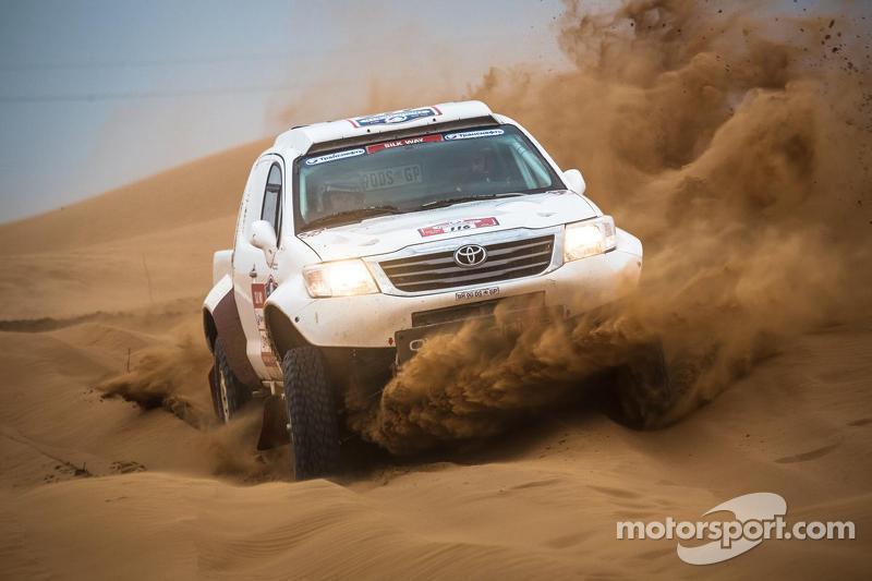 Jerome Pelichet in the dunes